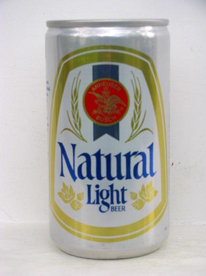 Old Natural Light Beer Cans