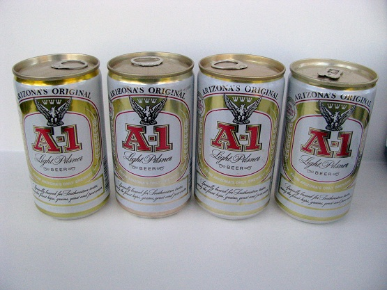 A-1 Legends - 4 cans - 1 can T/O