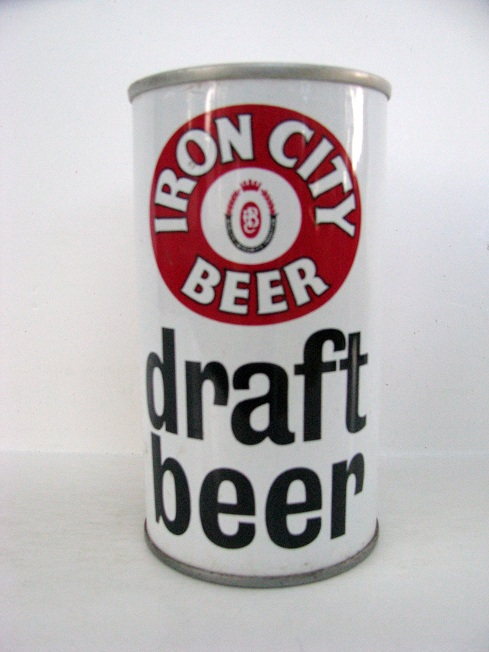 Iron City - Draft Beer - large black ltrs