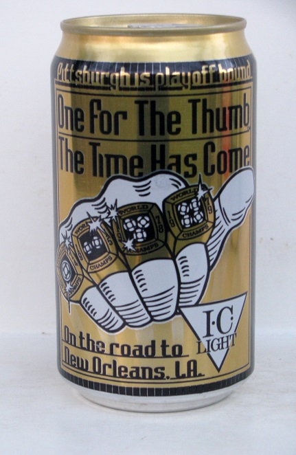 I.C. Light - Steelers - 'One For the Thumb'