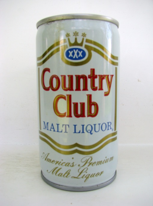 Country Club Malt Liquor - crimped
