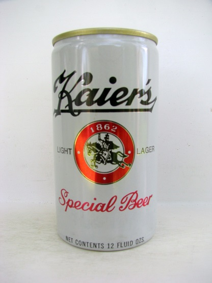 Kaier's Special Beer - aluminum