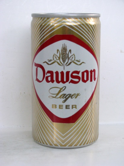 Dawson Lager Beer - aluminum - T/O