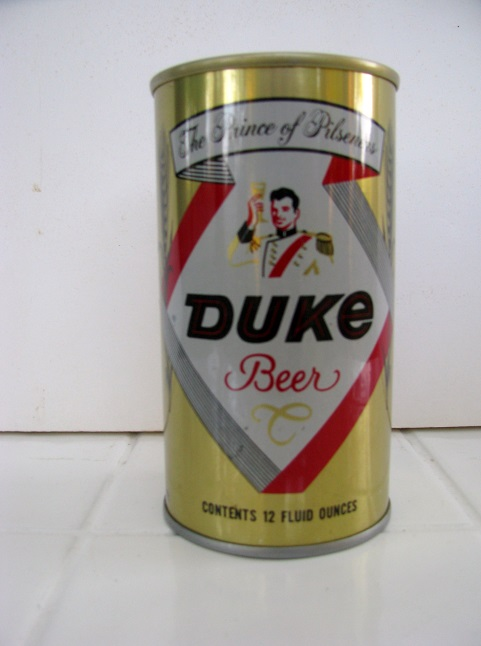 Duke - SS - 'The Prince of Pilseners' - gold - T/O