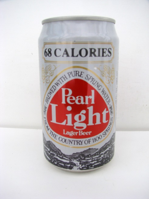 Pearl Light - 68 Calories in bold letters
