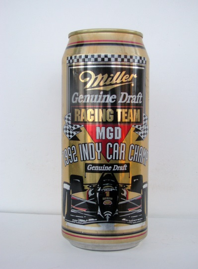 Miller Genuine Draft - Indianapolis 500 - May 24, 1992 - 16oz
