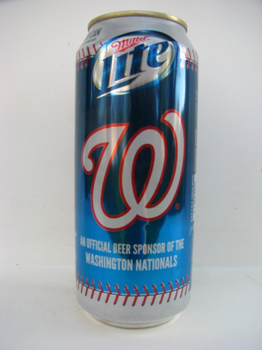 Miller Lite - Washington Nationals - 16oz