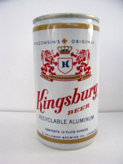Kingsbury Beer - aluminum w small contents