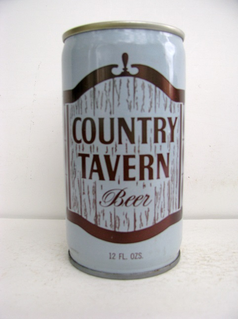 Country Tavern Beer - crimped