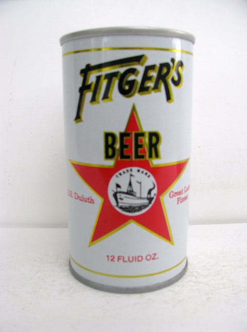 Fitger's Beer - white