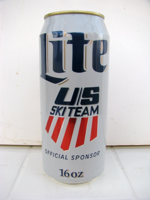 Lite Beer - US Ski Team - 16oz
