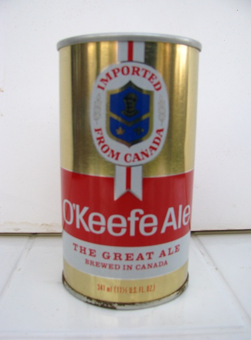O'Keefe Ale - The Great Ale - SS - contents bf