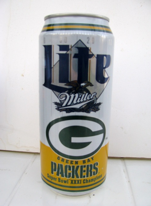 Lite Beer - Green Bay Packers - Super Bowl 31 Champions