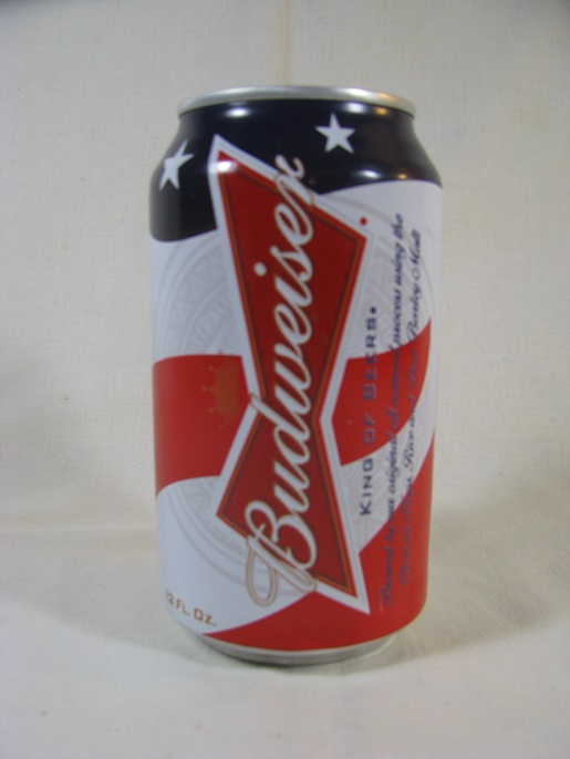 Budweiser - red, white, & blue - 2011 - T/O