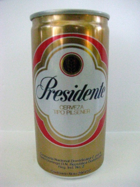 Presidente - metallic -10oz