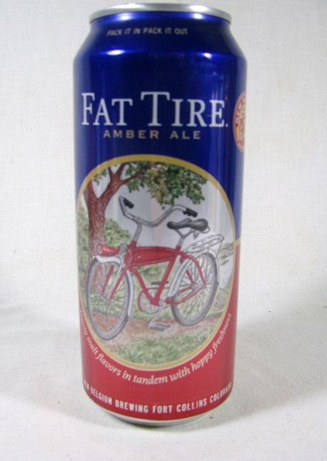 New Belgium - Fat Tire Amber Ale - 16oz