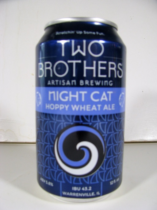 Two Brothers - Night Cat Hoppy Wheat Ale