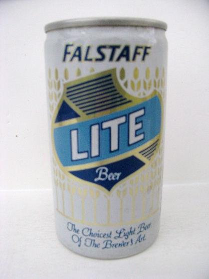 Falstaff Lite - blue & white - aluminum