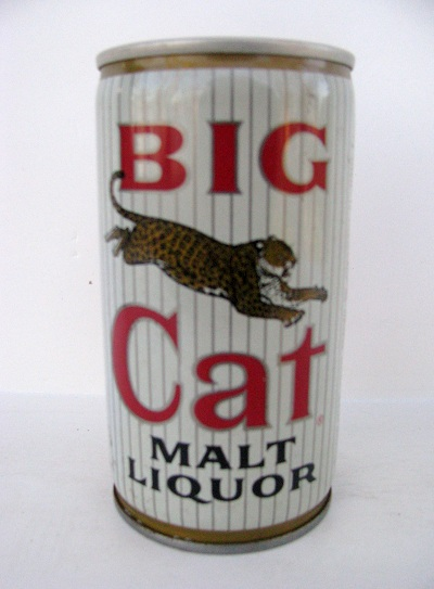 Big Cat Malt Liquor - crimped