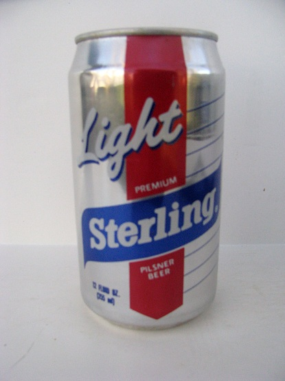 Sterling Light - silver/red