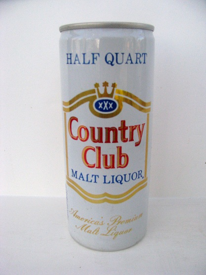 Country Club Malt Liquor - 16oz - aluminum