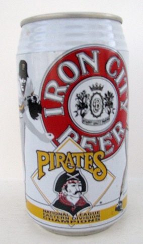 Iron City - Pirates - Nat'l League Eastern Div Champs