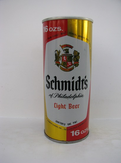 Schmidt's Light Beer - 16oz - SS - metallic