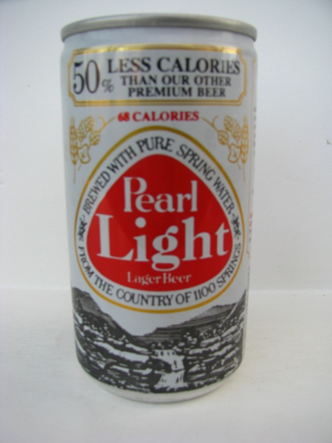 Pearl Light - 68 calories in red