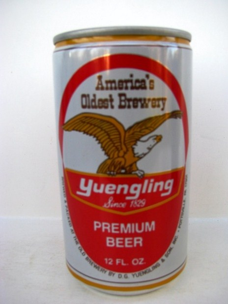 Yuengling Premium Beer - red/gold - 160 years
