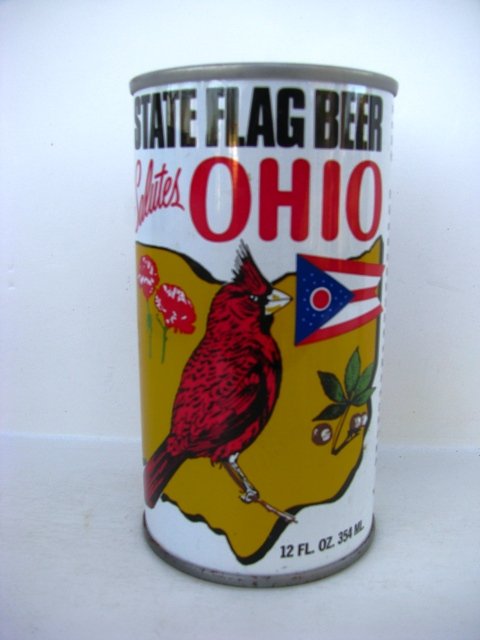 State Flag Beer - Salutes Ohio