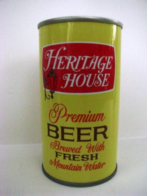Heritage House - SS - Pittsburgh - 'Brewed With Fresh Mtn Water'