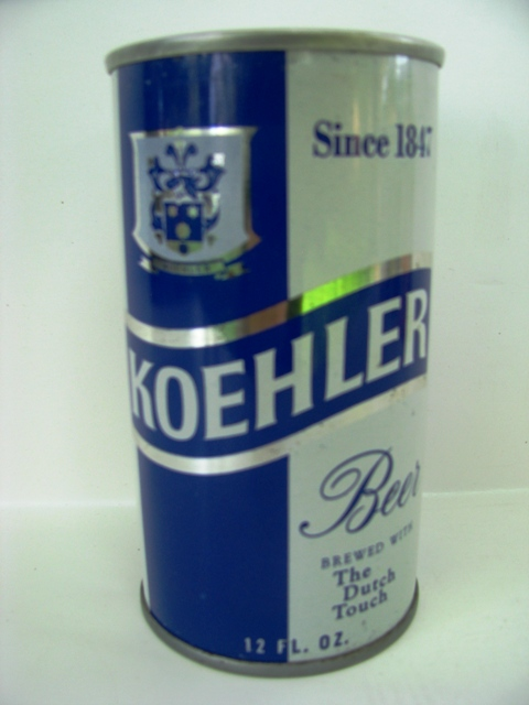 Koehler - SS - blue & silver - T/O