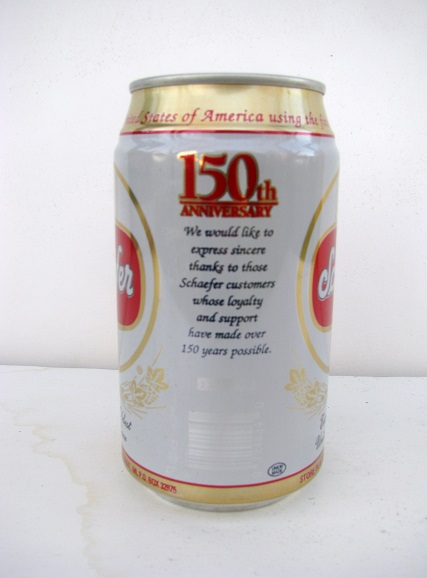 Schaefer 150th Anniversary - T/O